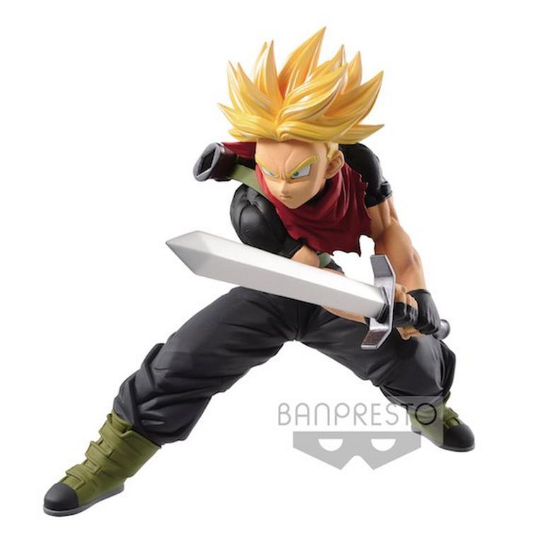 Super Dragon Ball Heroes Super Saiyan Future Trunks Transcendence Art Volume 5 Statue