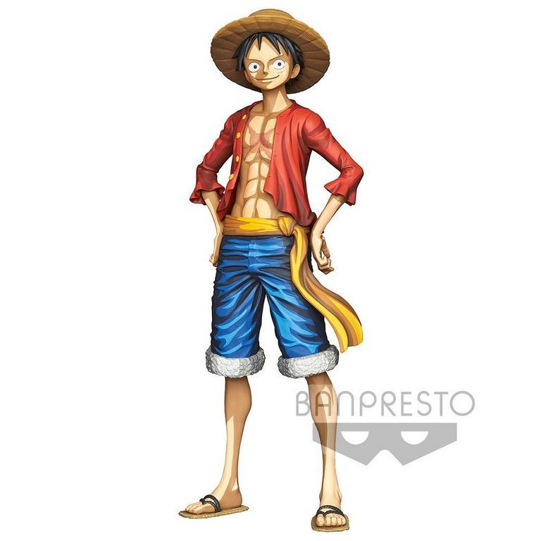 One Piece Monkey D. Luffy Manga Dimensions Grandista Statue
