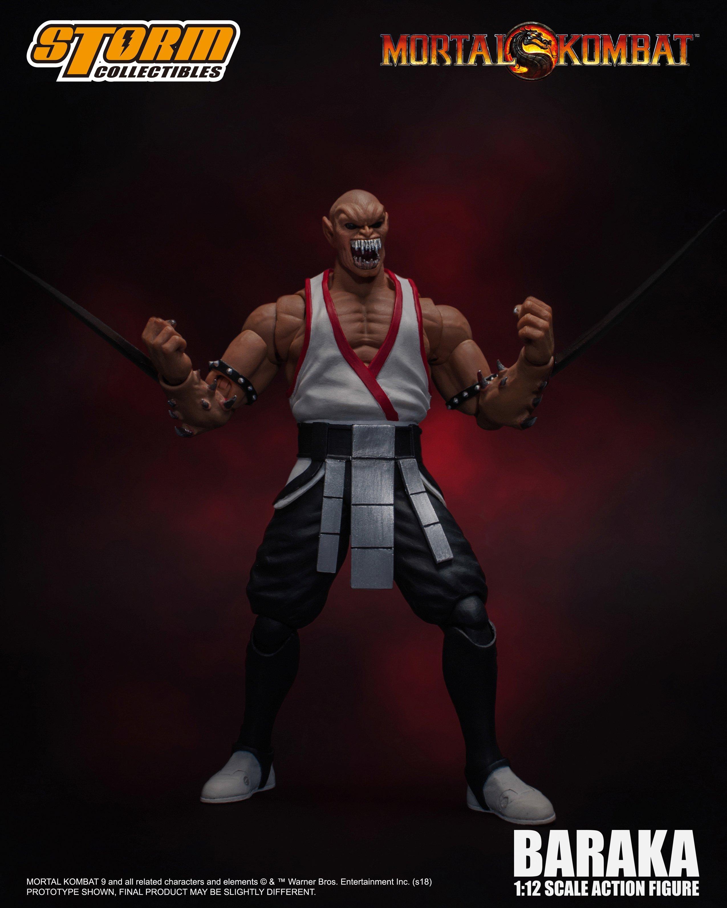 Storm Collectibles Mortal Kombat Baraka Action Figure | GameStop