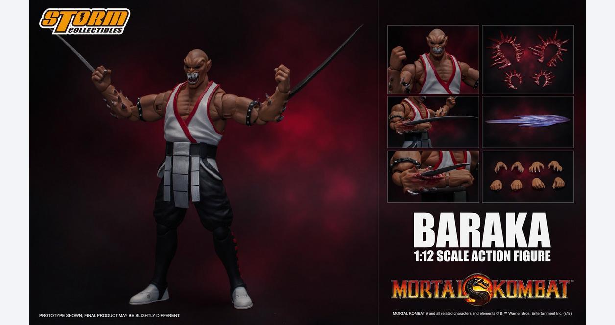 Mortal Kombat Baraka Action Figure