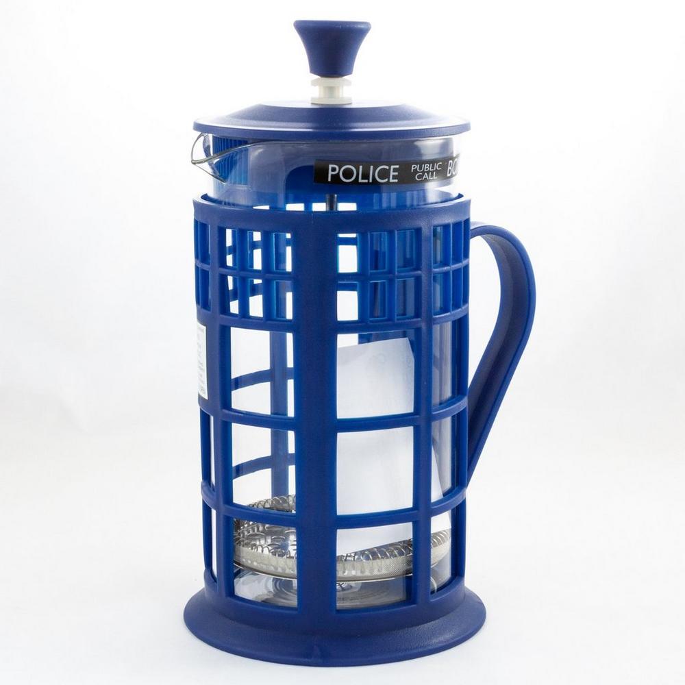 Doctor Who Tardis Coffee Press GameStop    Doctor Who Tardis Coffee Press   title=          GameStop