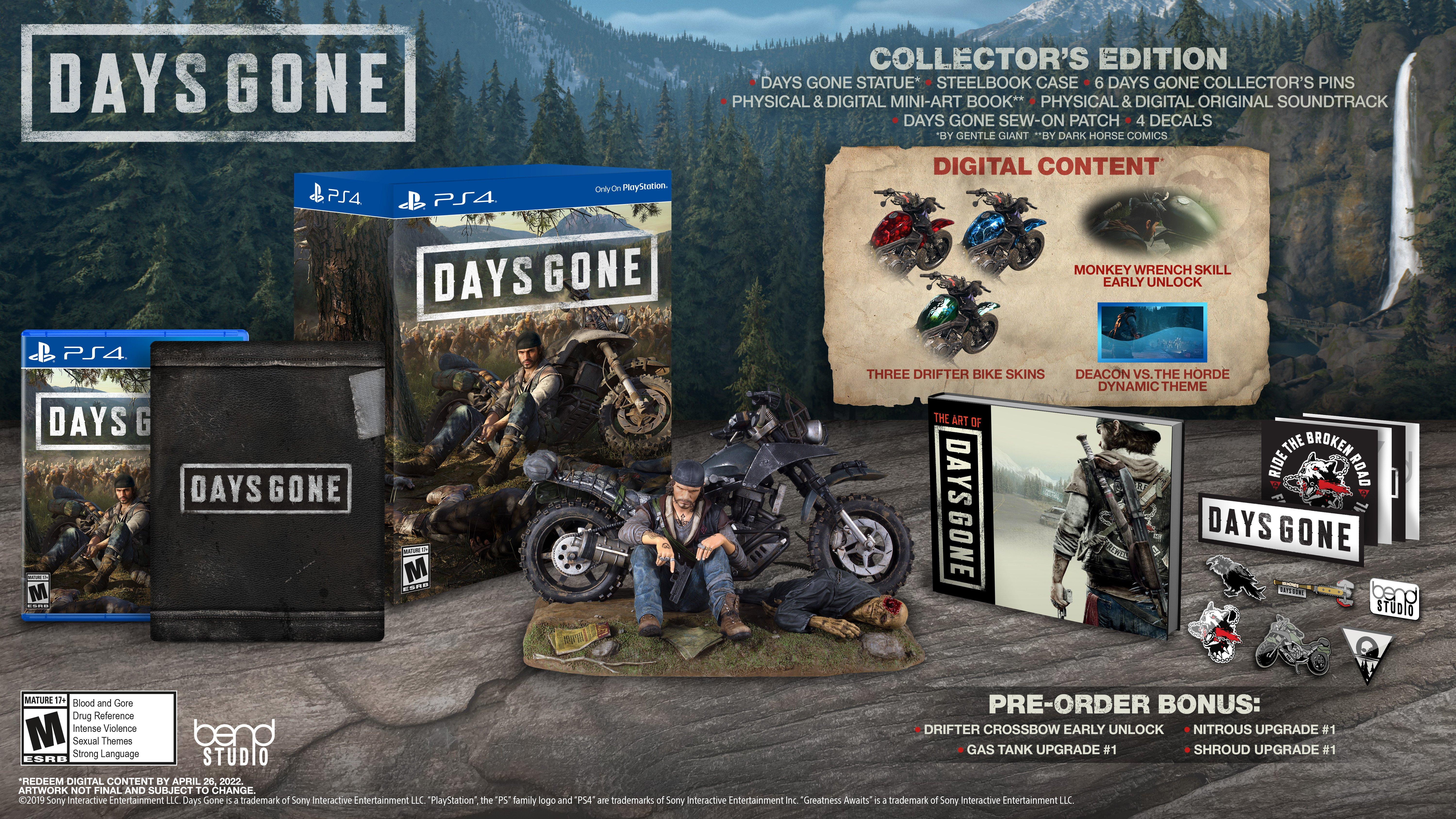 Days Gone Collector's Edition | PlayStation 4 | GameStop