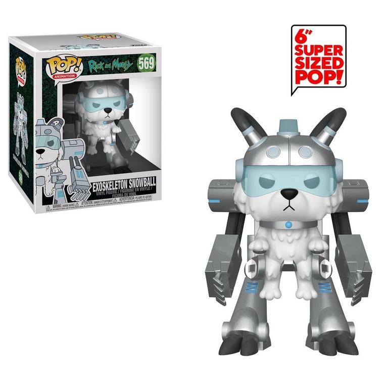POP! TV: Rick and Morty - Snowball in Mech Suit 6 inch Figure