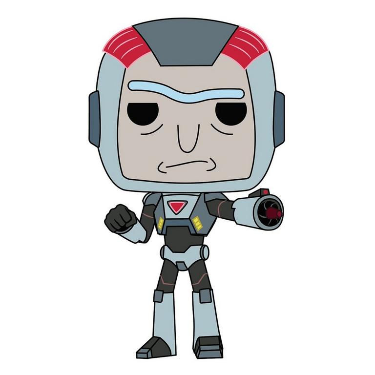 POP! Animation: Rick and Morty Purge Suit Rick