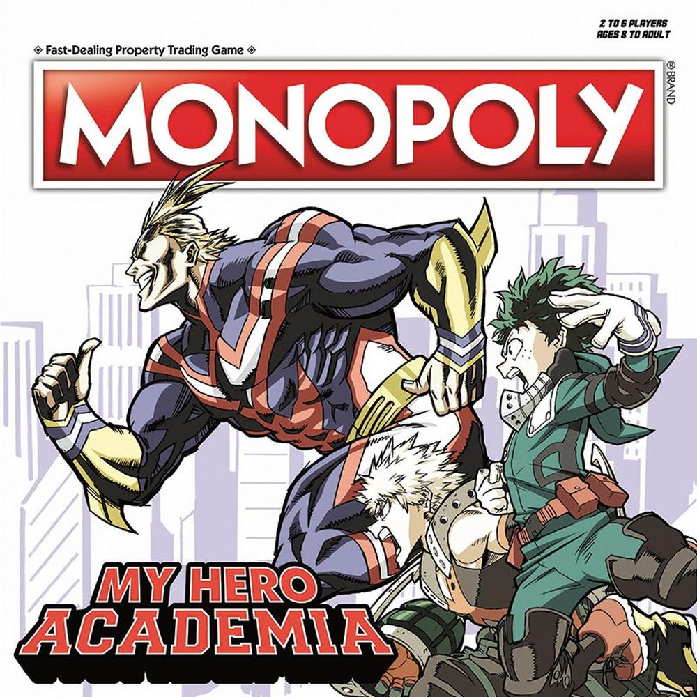Monopoly My Hero Academia Board Game Only At Gamestop Gamestop