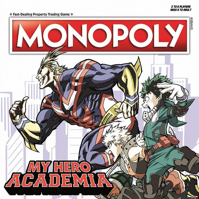 Monopoly: My Hero Academia Board Game Only at GameStop