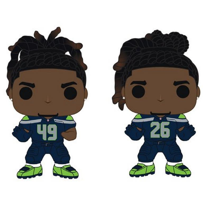 POP! NFL: Seattle Seahawks Griffin Brothers 2 Pack