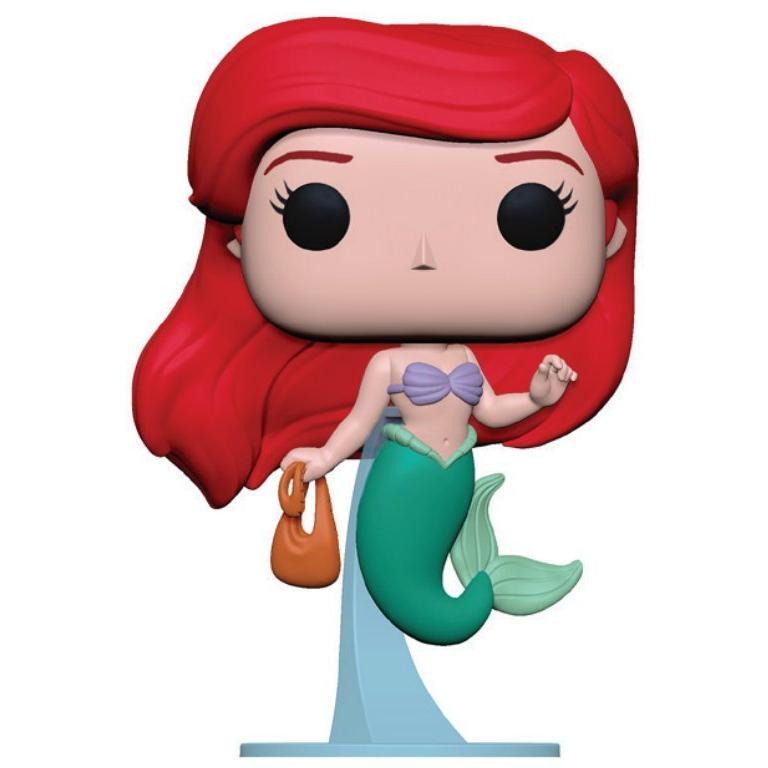POP! Disney: The Little Mermaid Ariel with Bag