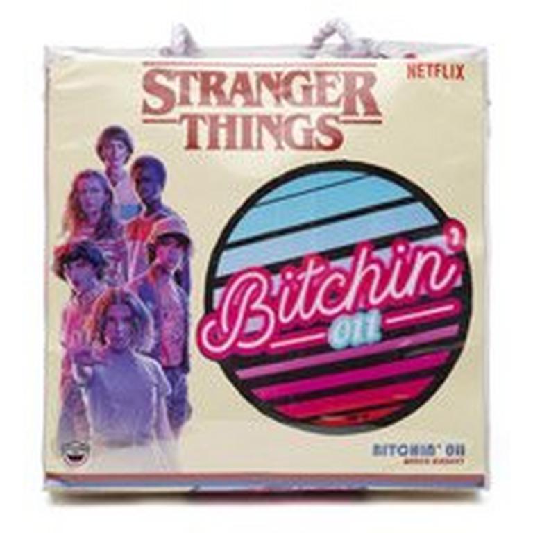 Stranger Things Bitchin 011 Beach Blanket