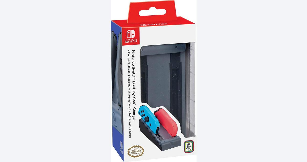 Nintendo Switch Dual Joy-Con Charger - Red