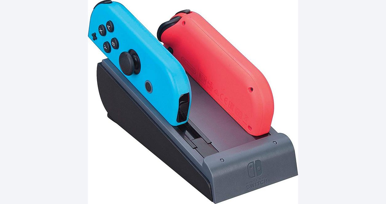 Nintendo Switch Red Dual Joy-Con Charger
