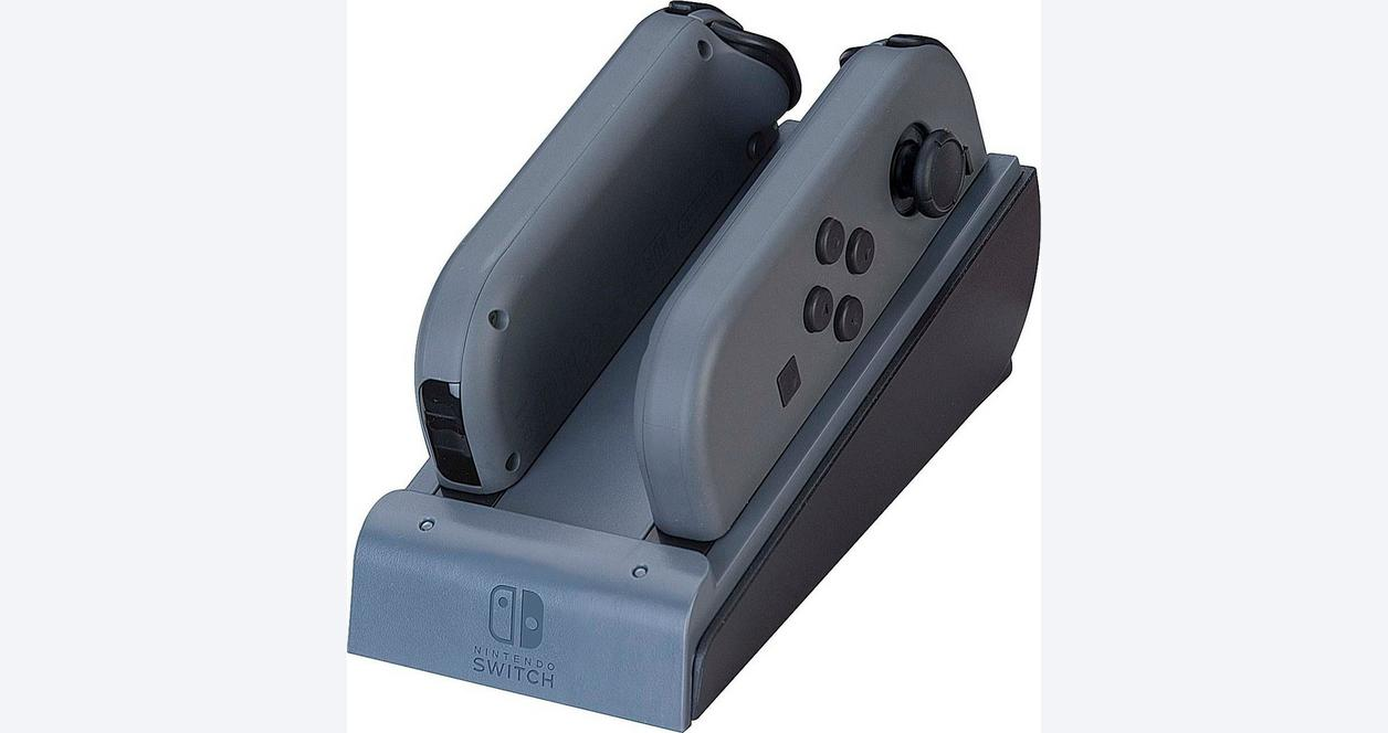 Red Dual Joy-Con Charger for Nintendo Switch