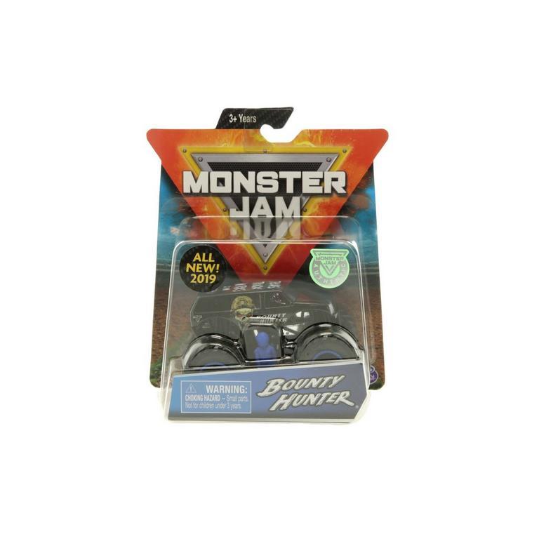 Monster Jam Bounty Hunter Vehicle Pack