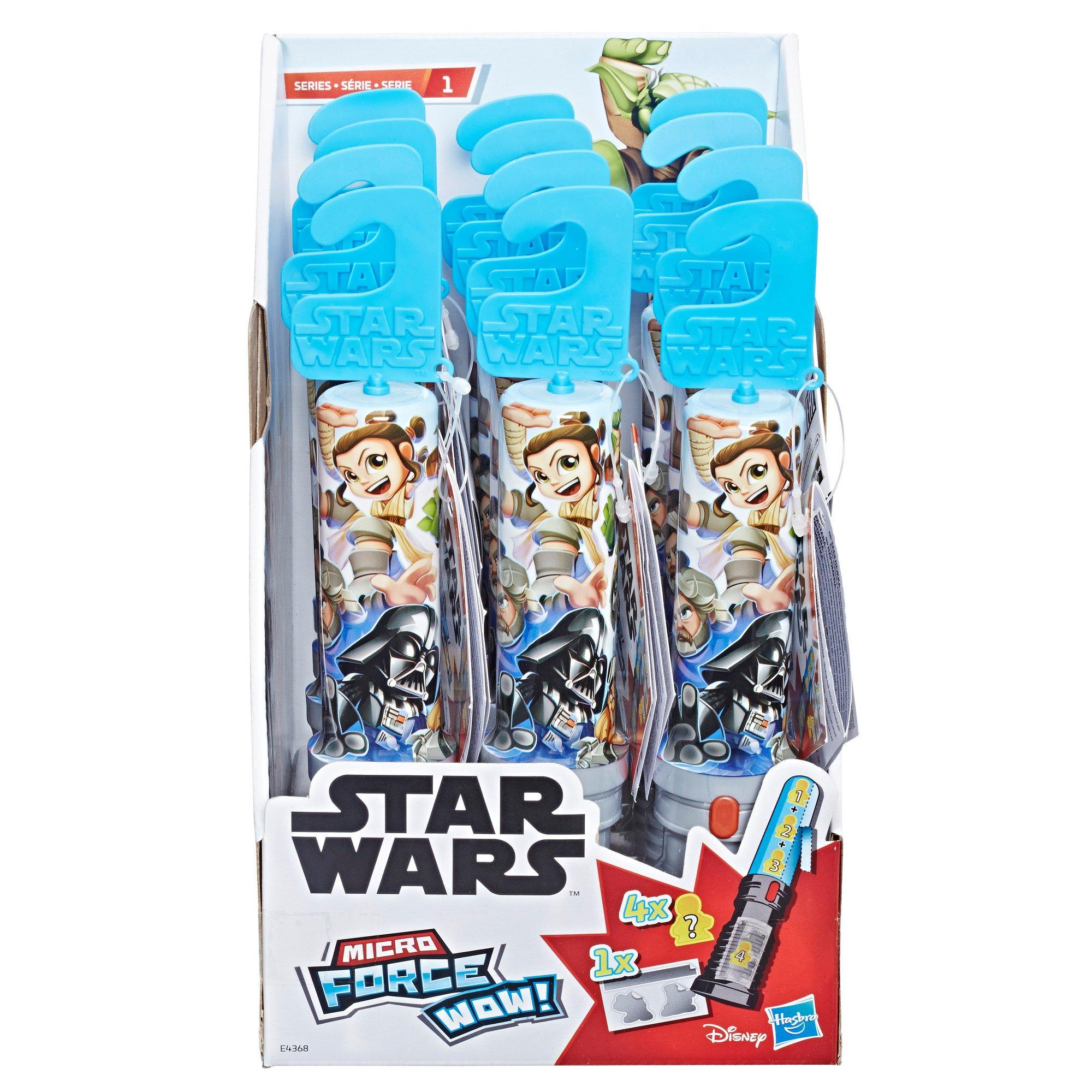 Series 1 Surprise Toy Collect Them All Star Wars Micro Force Wow Lot Of 2