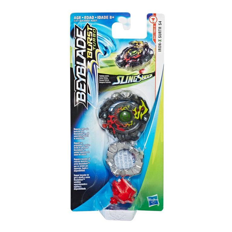 Beyblade Burst Turbo Slingshock Single Top (Assortment)