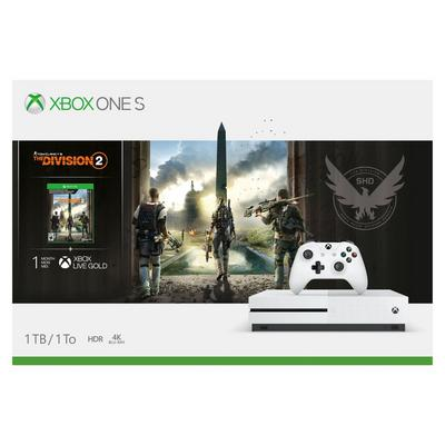 Xbox One S 1TB Tom Clancy's The Division 2 System Bundle