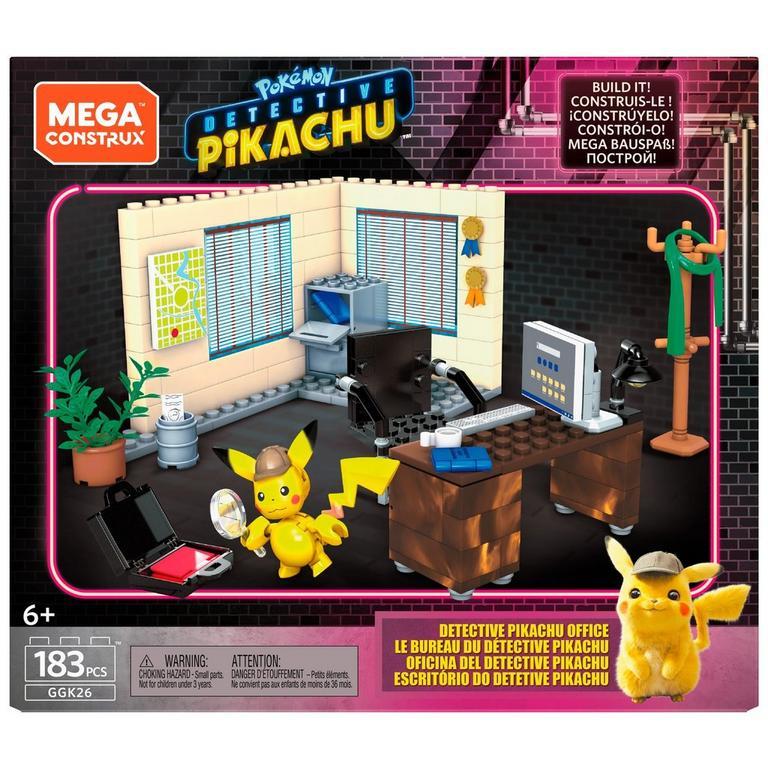 Mega Construx Pokemon Detective Pikachu's Office Playset
