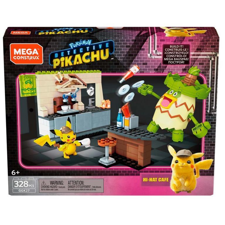 Pokemon Detective Pikachu Hi-Hat Cafe Mega Construx