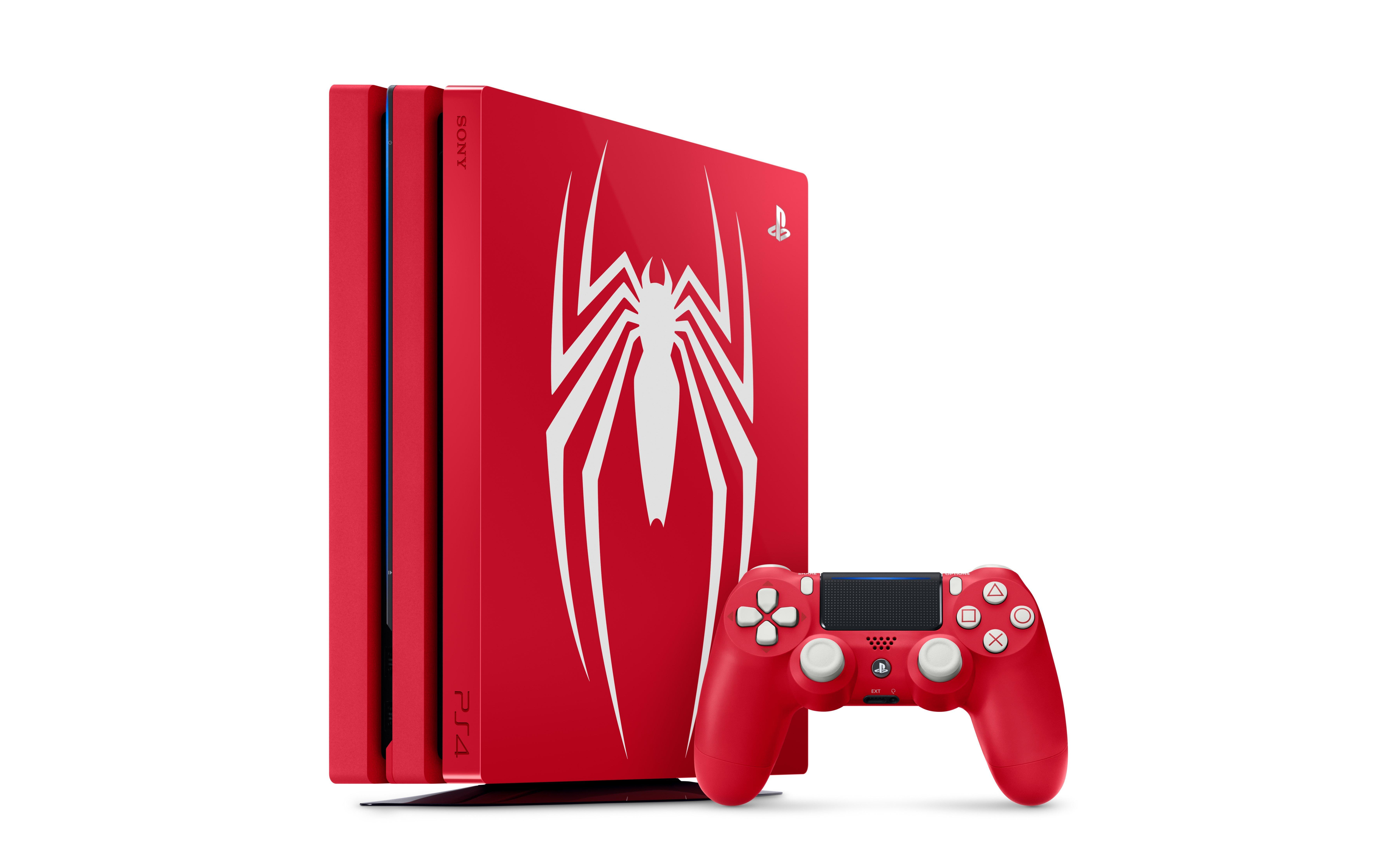 PlayStation 4 Pro 1TB Spider-Man Limited Edition System | <%Console%> |  GameStop