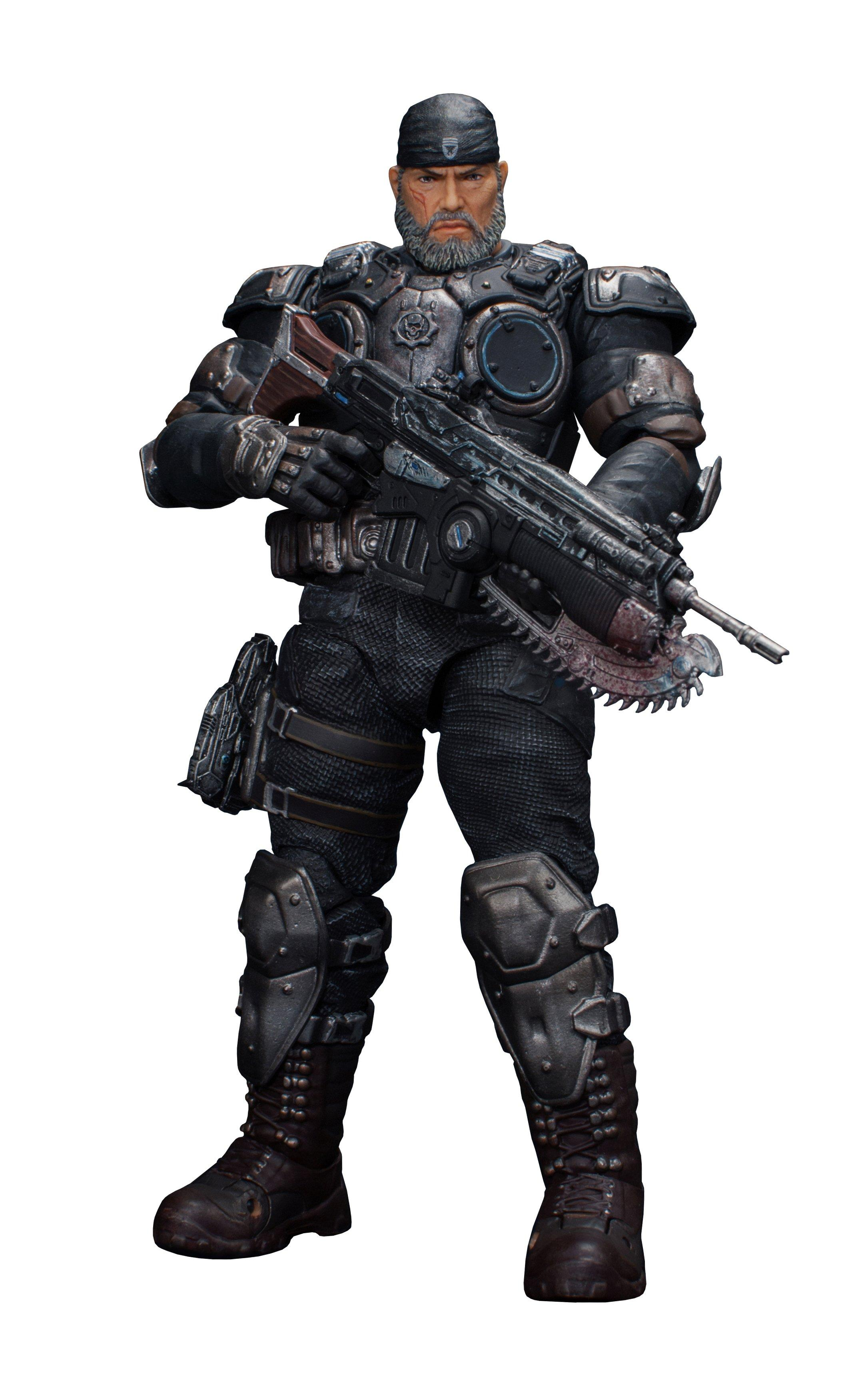 Gears of War Gears 5 Marcus Fenix Action Figure Storm Collectibles