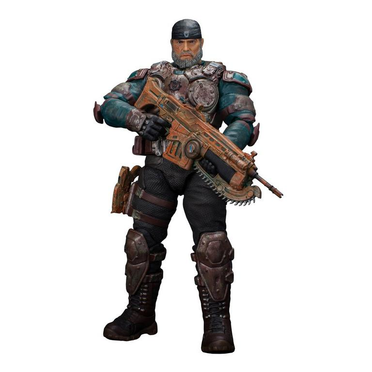 Gears of War: Marcus Fenix (Color Variant) 1/12 Scale Action Figure - Only at GameStop