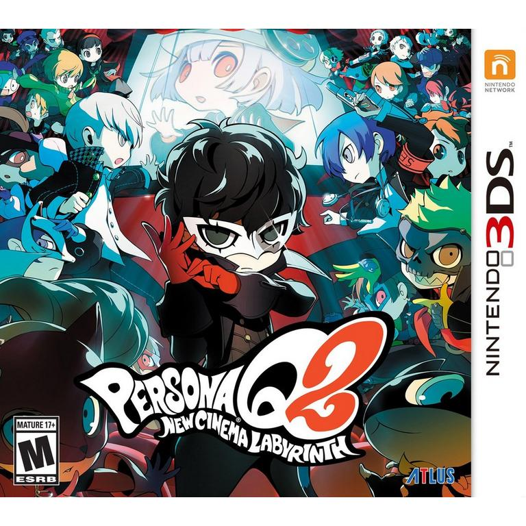 Persona Q2: New Cinema Labyrinth | Nintendo 3DS | GameStop