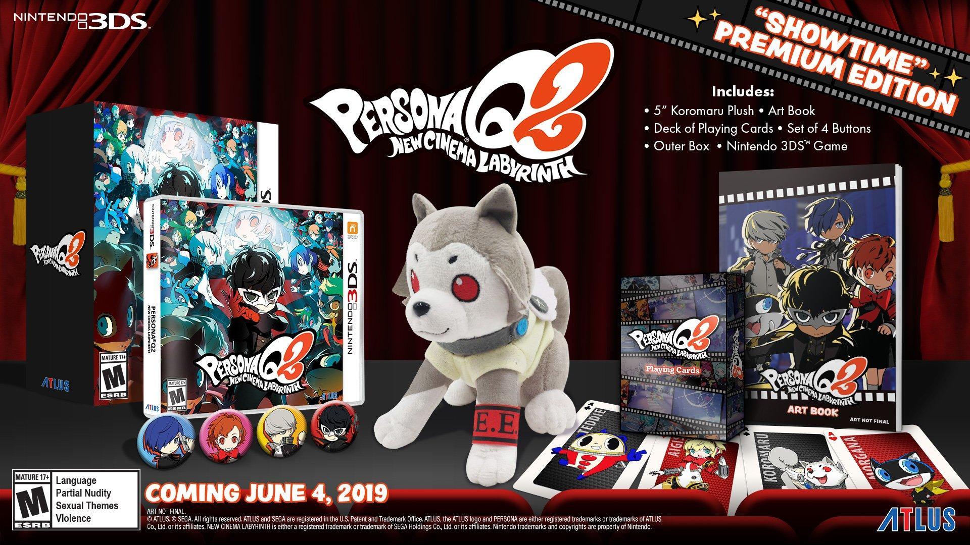 Persona Q2: New Cinema Labyrinth Showtime Premium Edition | Nintendo 3DS |  GameStop