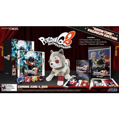 Persona Q2: New Cinema Labyrinth Showtime Premium Edition