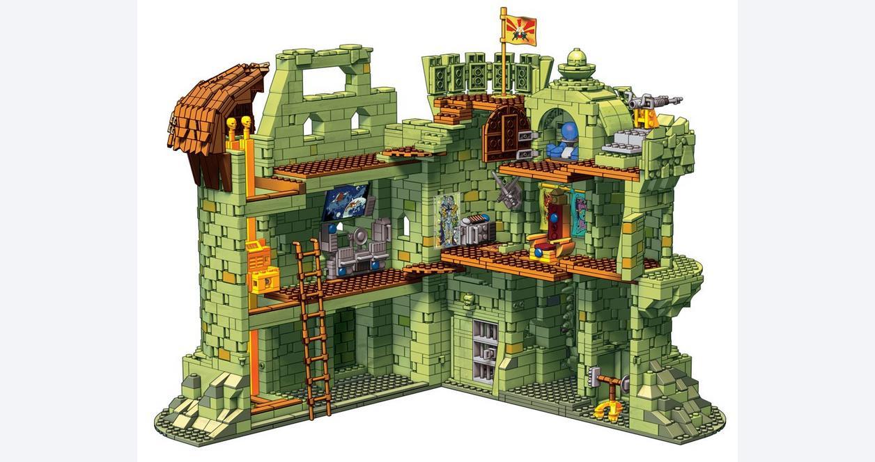 Masters Of The Universe Castle Grayskull Mega Construx Gamestop