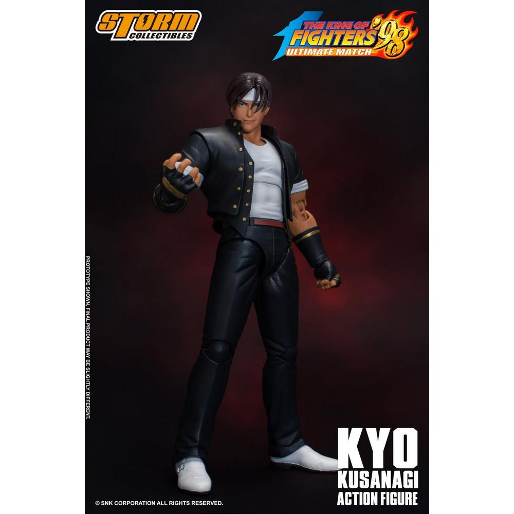 King of Fighters 98 Kyo Kusanagi Storm Collectibles 1:12 Action Figure    GameStop