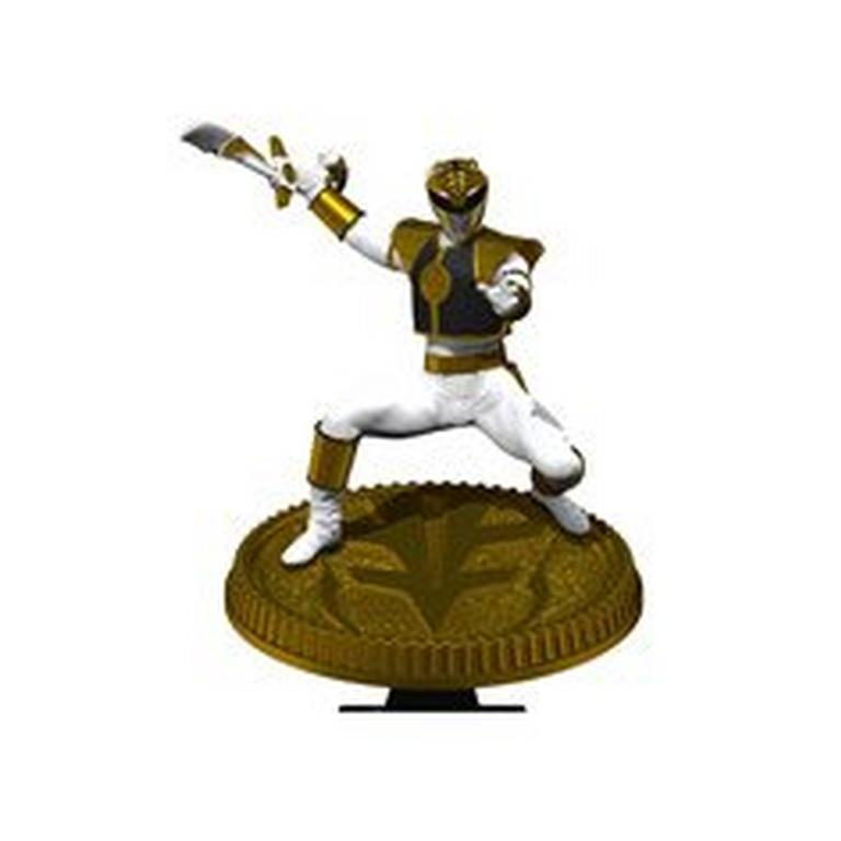 Mighty Morphin Power Rangers White Ranger Statue Only at GameStop