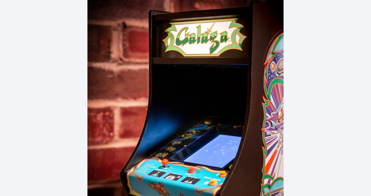Galaga Quarter Arcade Machine