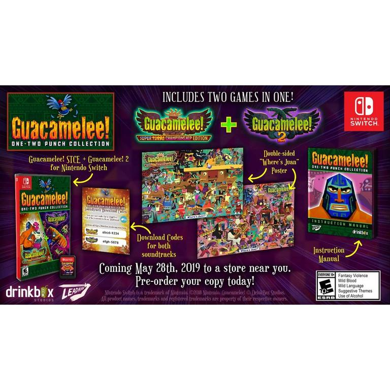 Guacamelee! One - Two Punch Collection