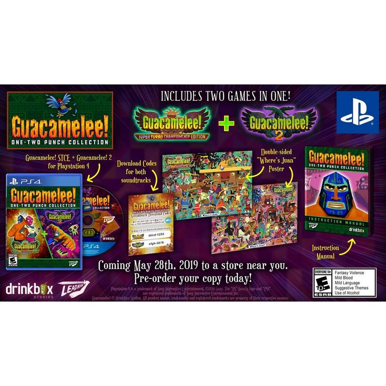 Guacamelee! One -Two Punch Collection