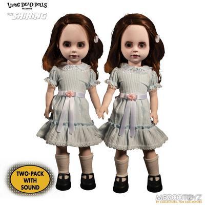 Living Dead Dolls The Shining Talking Grady Twins Doll