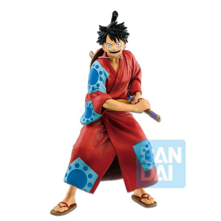 One Piece Monkey D. Luffy Japanese Style Statue