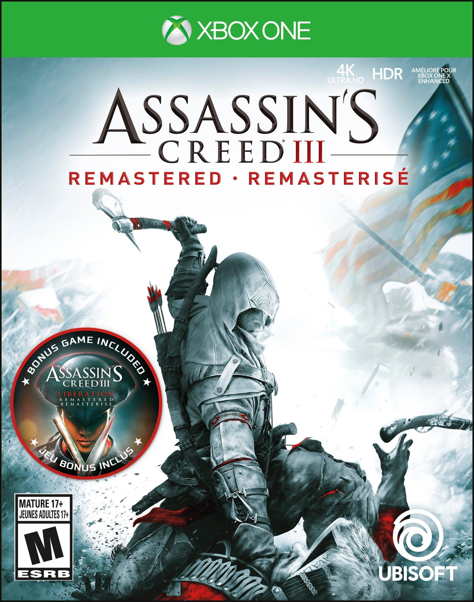 Assassin S Creed Iii Remastered Xbox One Gamestop