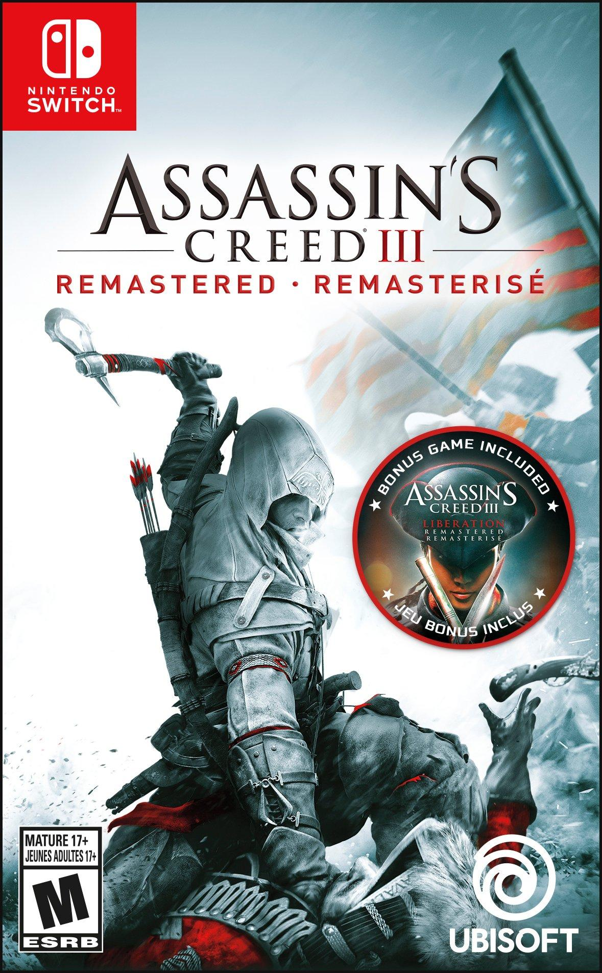 Assassin S Creed Iii Remastered Nintendo Switch Gamestop