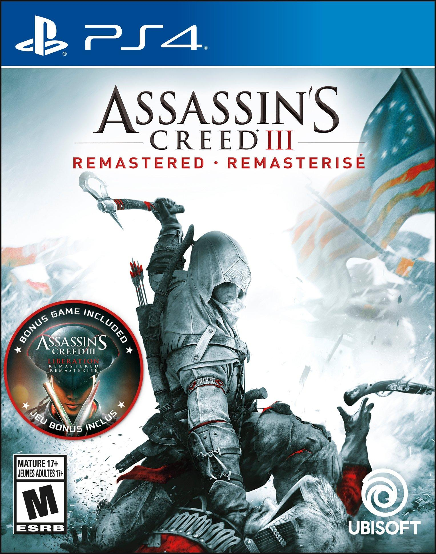 Assassin S Creed Iii Remastered Playstation 4 Gamestop