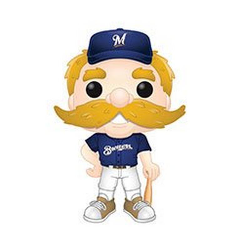 POP! MLB: Milwaukee Brewers Bernie The Brewer