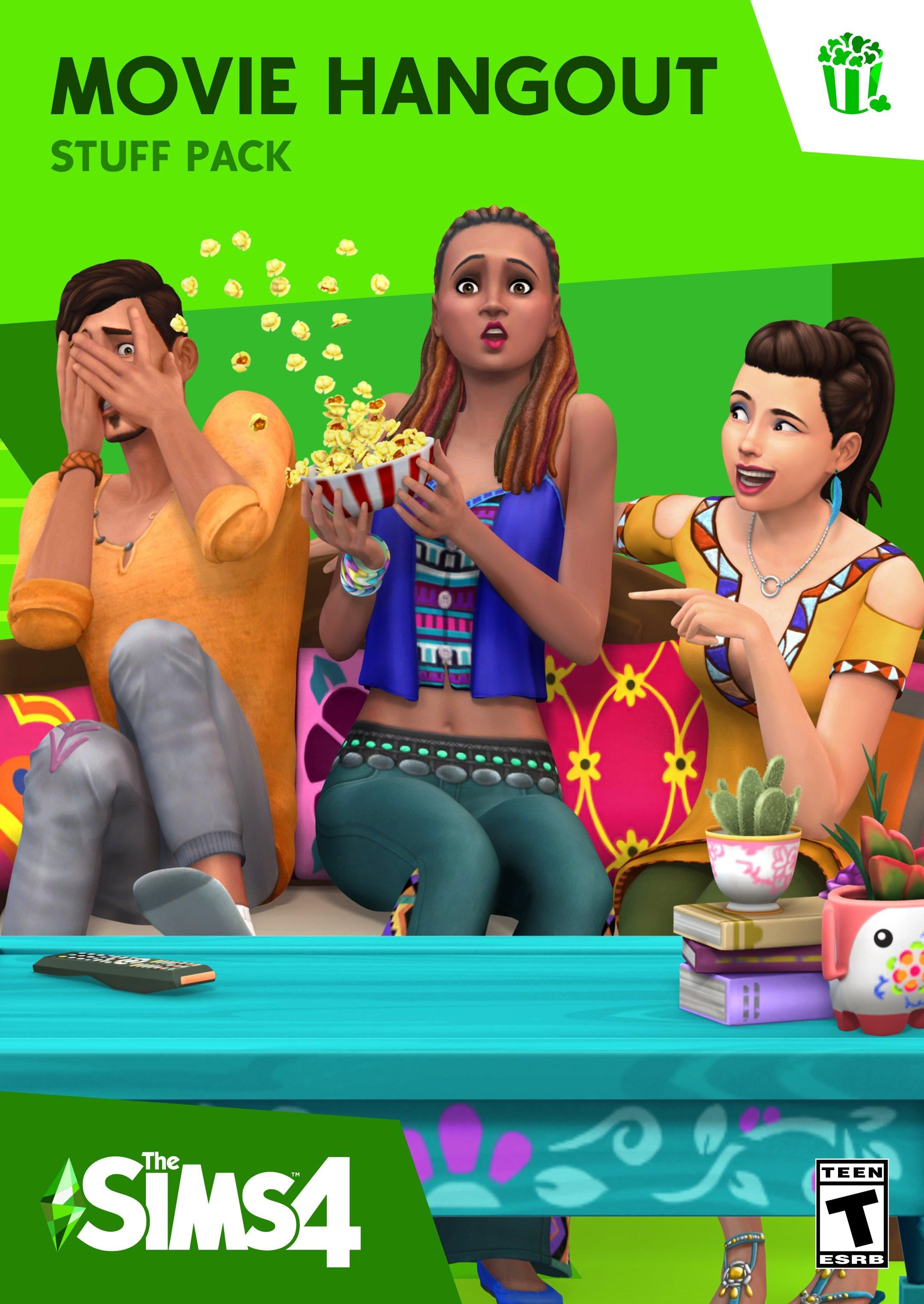 The Sims 4: Movie Hangout Stuff | <%Console%> | GameStop
