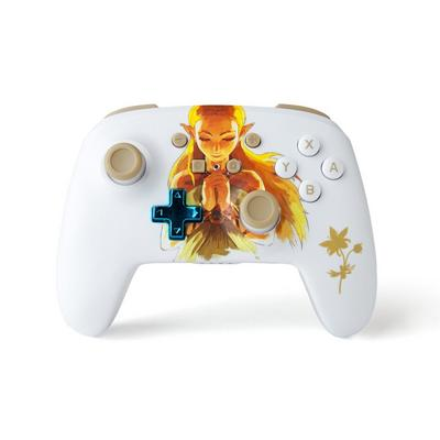 PowerA Enhanced Wireless Controller for Nintendo Switch - Princess Zelda