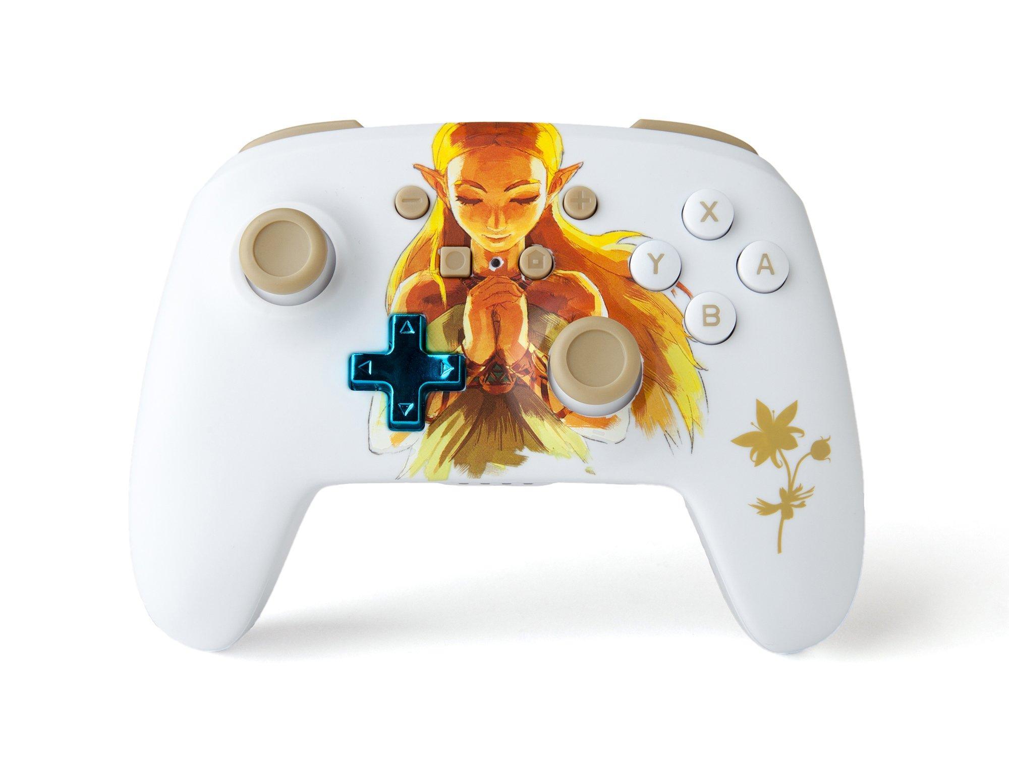 The Legend Of Zelda Princess Zelda Enhanced Wireless Controller For Nintendo Switch Nintendo Switch Gamestop