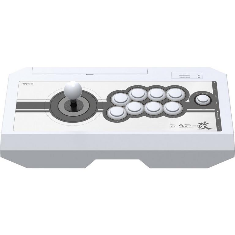 Real Arcade Pro 4 Kai White Fight Stick for PlayStation 4