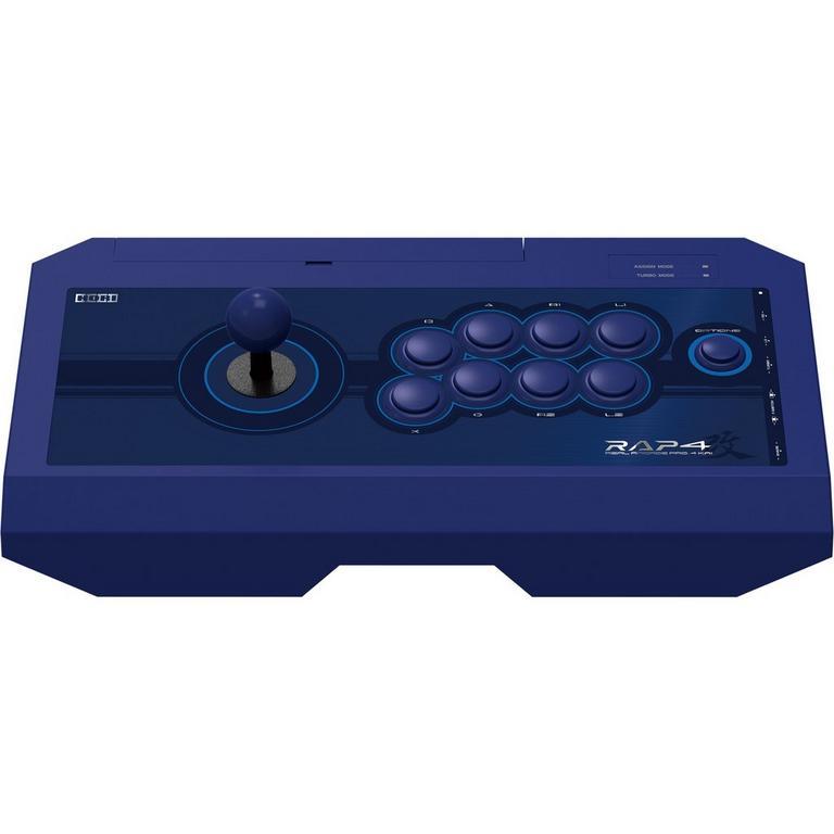 PlayStation 4 Real Arcade Pro 4 Kai Blue Fight Stick