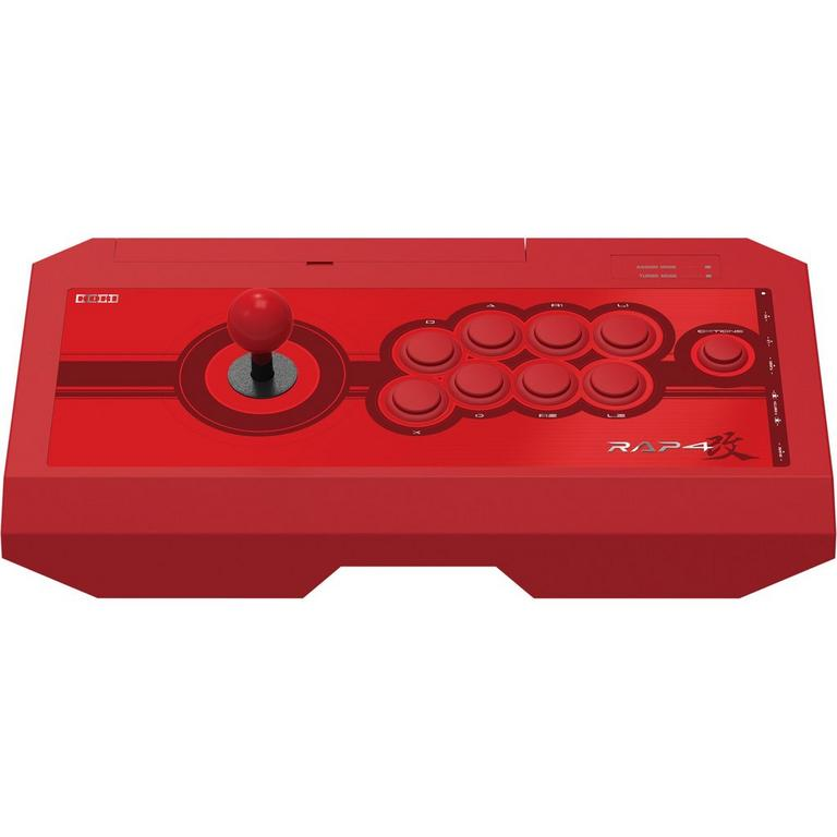 Real Arcade Pro 4 Kai Red Fight Stick for PlayStation 4