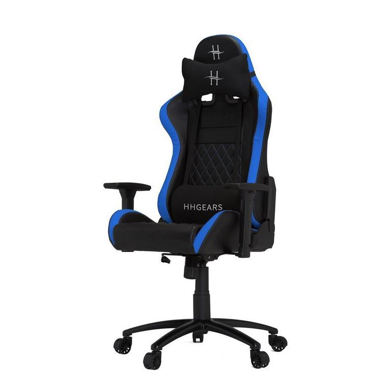 HHGears XL500 Game Chair Black Blue