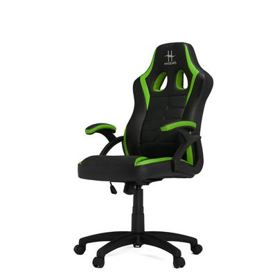 HHGears SM115 Game Chair Black Green