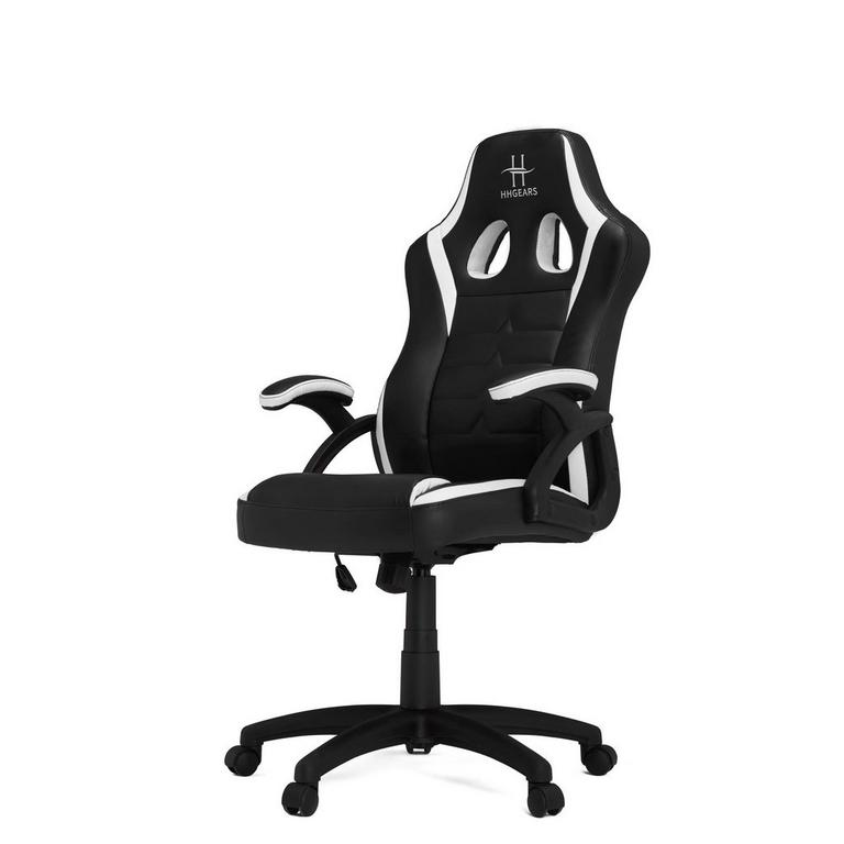 SM-115 Black and White Gaming Chair