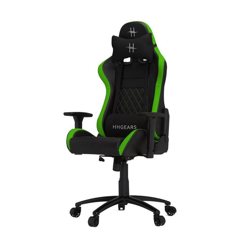 HHGears XL500 Game Chair Black/Green
